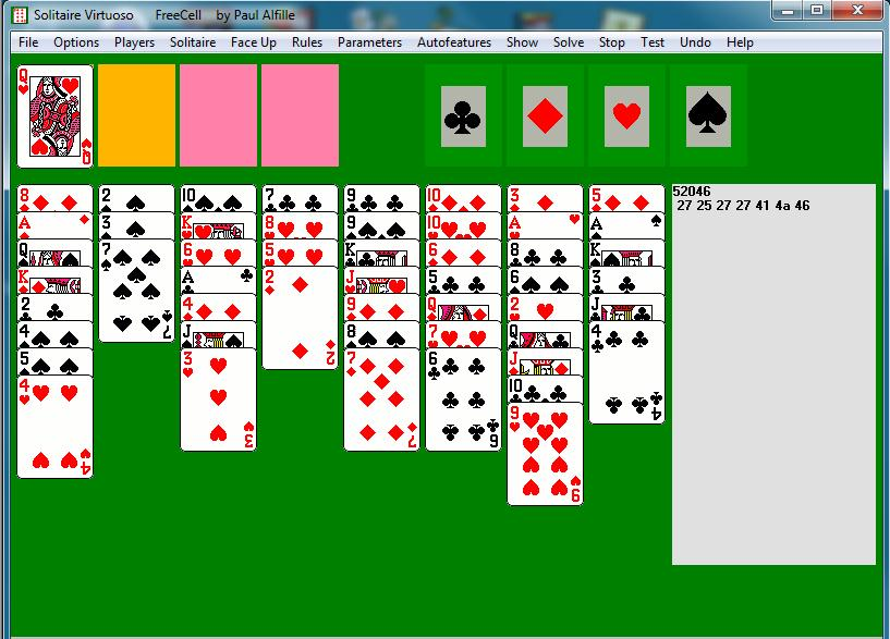 how to set up freecell